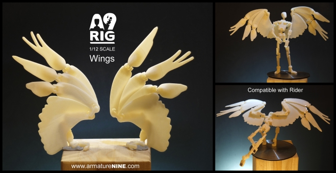 A9 armature wings