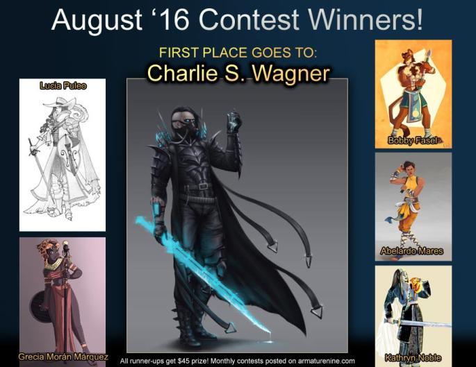 August 2016 contest winner
